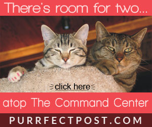 There's room for two atop the Command Center