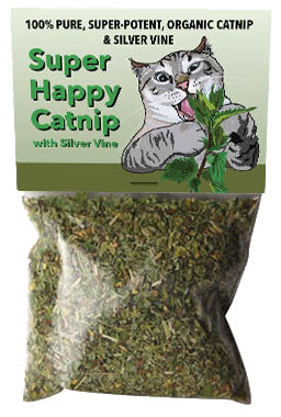 Super Happy Catnip with Silver Vine