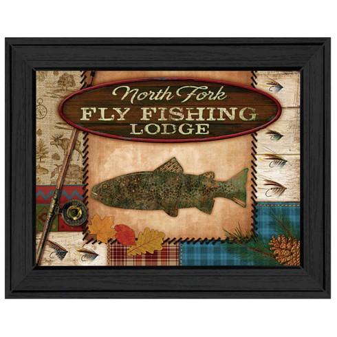 Mol926a 405 fly fishing lodge trendy decor 4 u for Home decor 4 u