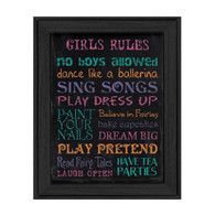 DEW209-405-Girls-Rule-12x16