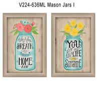"""V224-636ML """"Mason Jars 1"""""""