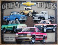 TN1747 Chevy Truck Tribute