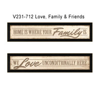 V231-712 Love, Family & Friends