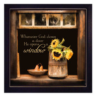 """God Opens Windows"" by Robin-Lee Vieira"