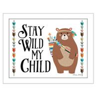 """Stay Wild My Child"" by artist Susan Ball"