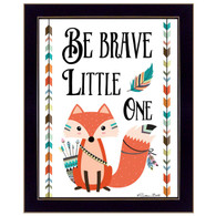 """Be Brave Little One"" by artist Susan Ball"