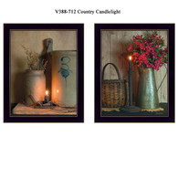 "V388-712 ""Country Candlelight"""