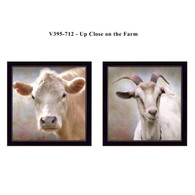"V395-712 ""Up Close on the Farm"""