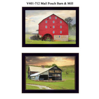 "V401-712 ""Mail Pouch Barn & Mill"""