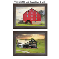 "V401-636MB ""Mail Pouch Barn & Mill"""