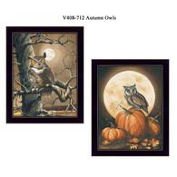 "V408-712 ""Autumn Owls"""