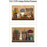 """V411-712W """"Antique Kitchen/Treasures"""""""