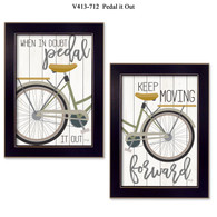 """V413-712 """"Pedal it Out"""""""