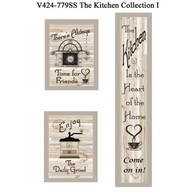 "V424-779SS ""The Kitchen Collection I"""