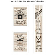 "V424-712W ""The Kitchen Collection I"""