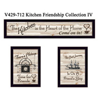 "V429-712 ""Kitchen Friendship Collection IV"""