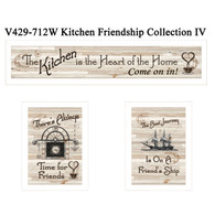 "V429-712W  ""Kitchen Friendship Collection IV"""