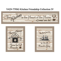 "V429-779SG  ""Kitchen Friendship Collection IV"""