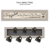 """V431-MPH-779SS   """"The Kitchen Vignette"""""""