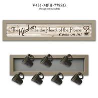 """V431-MPH-779SG   """"The Kitchen Vignette"""""""