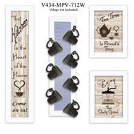V434-MPV-712W  Kitchen Collection V