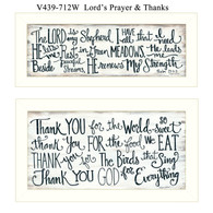 "V439-712W ""Thank you Lord"""