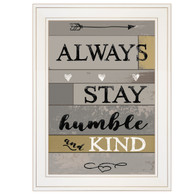 "KT238-226G ""Always Stay Humble and Kind"""
