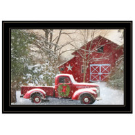 "LD1158-704G   ""Secluded Barn with Truck"""