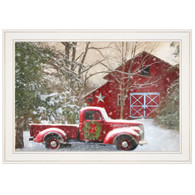 "LD1158-226G   ""Secluded Barn with Truck"""