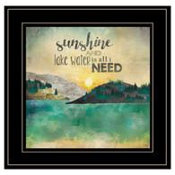 """MA2059-704G """"Sunshine and Lake Water"""""""
