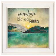 """MA2059-226G """"Sunshine and Lake Water"""""""
