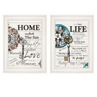 """V466-226G """"Life, Home"""""""