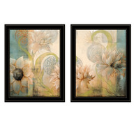 "V462-704G ""Meandering Flowers I & II"""