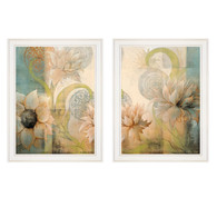 "V462-226G ""Meandering Flowers I & II"""