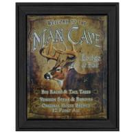 "TNU425 - ""Man Cave"" - 405BLK"