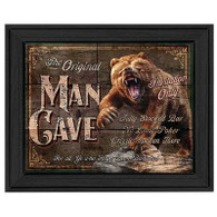 "TNU465 - ""Original Man Cave - Invitation Only"" - 405BLK"