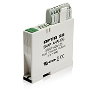 SNAP-AOV-25 (2-CHANNEL 0-10 VDC OUTPUT MODULE)