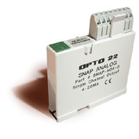 SNAP-AOA-3  (SINGLE CHANNEL CURRENT OUTPUT MODULE)