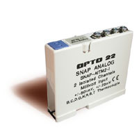 SNAP-AITM2-i  (2-CHANNEL ISOLATED T/C INPUT MODULE)