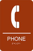 ADA Phone Sign