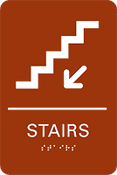 Stairs ADA Sign