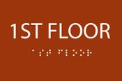 1st Floor ADA Sign