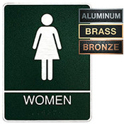 Women's ADA Restroom Plaque