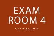 Exam Room 4 ADA Sign