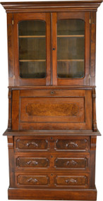 17298 Victorian Slant Top Secretary Desk