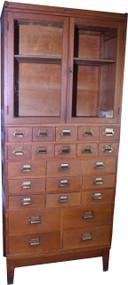 18263 Oak Sectional File Cabinet by Yawnee