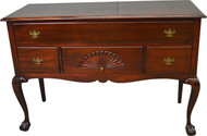 17470 Mahogany Chippendale Ball and Claw Sideboard