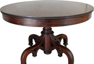 17417 Empire Mahogany 42 inch Center Table