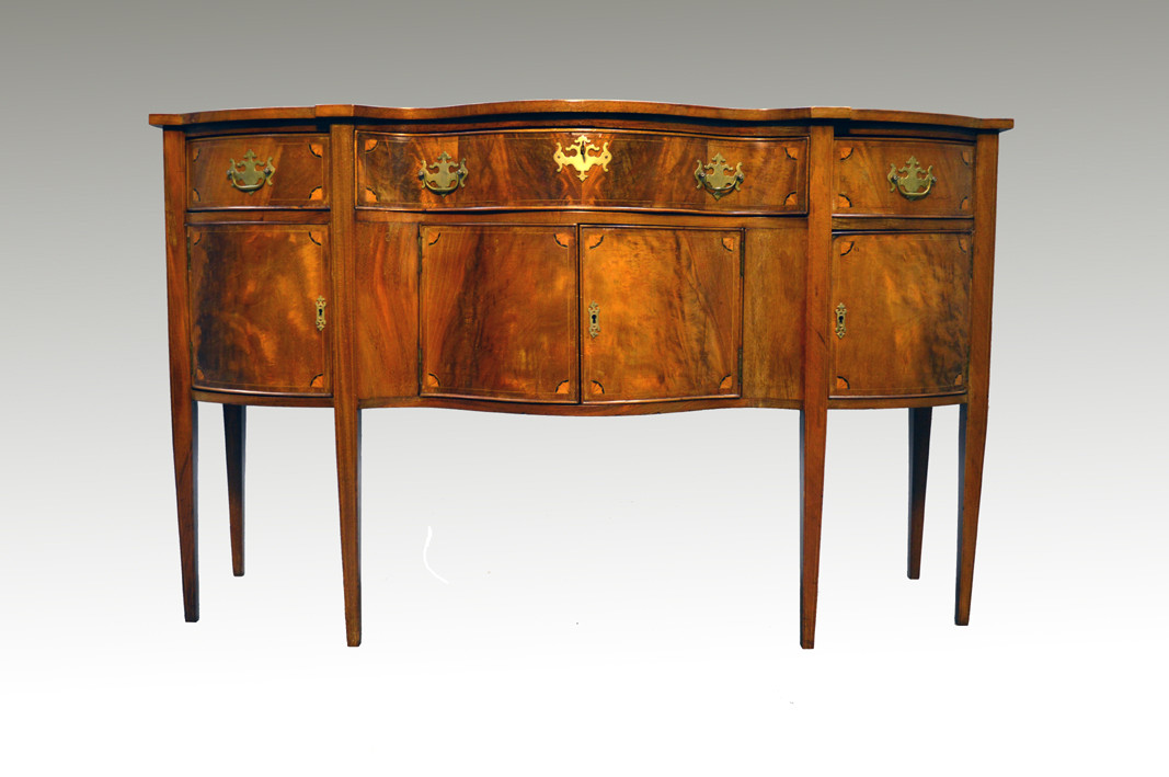 how to antique cabinets sold antique custom mahogany inlaid formal sideboard 16776