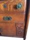 Sold Unusual Oak Curio Top Sideboard Paine Furniture